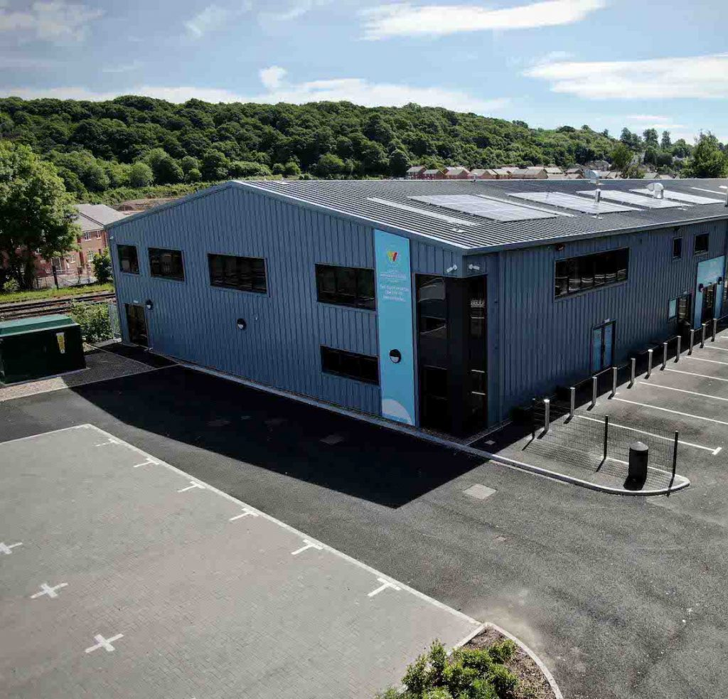 Business Innovation - £4Million Engineering Training Centre Complete In Worcestershire