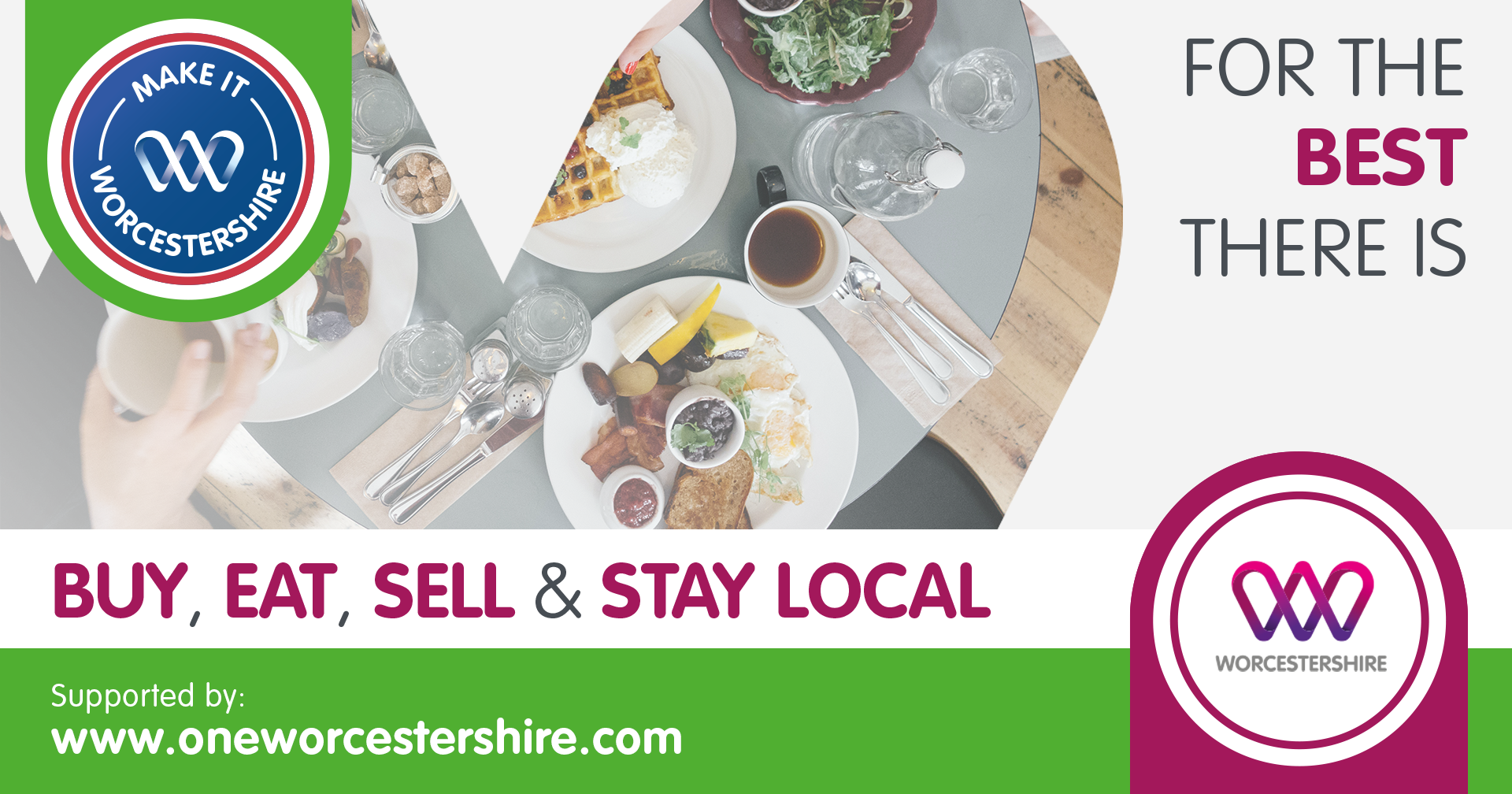Local hospitality organisations offered much-needed free support from county wide campaign