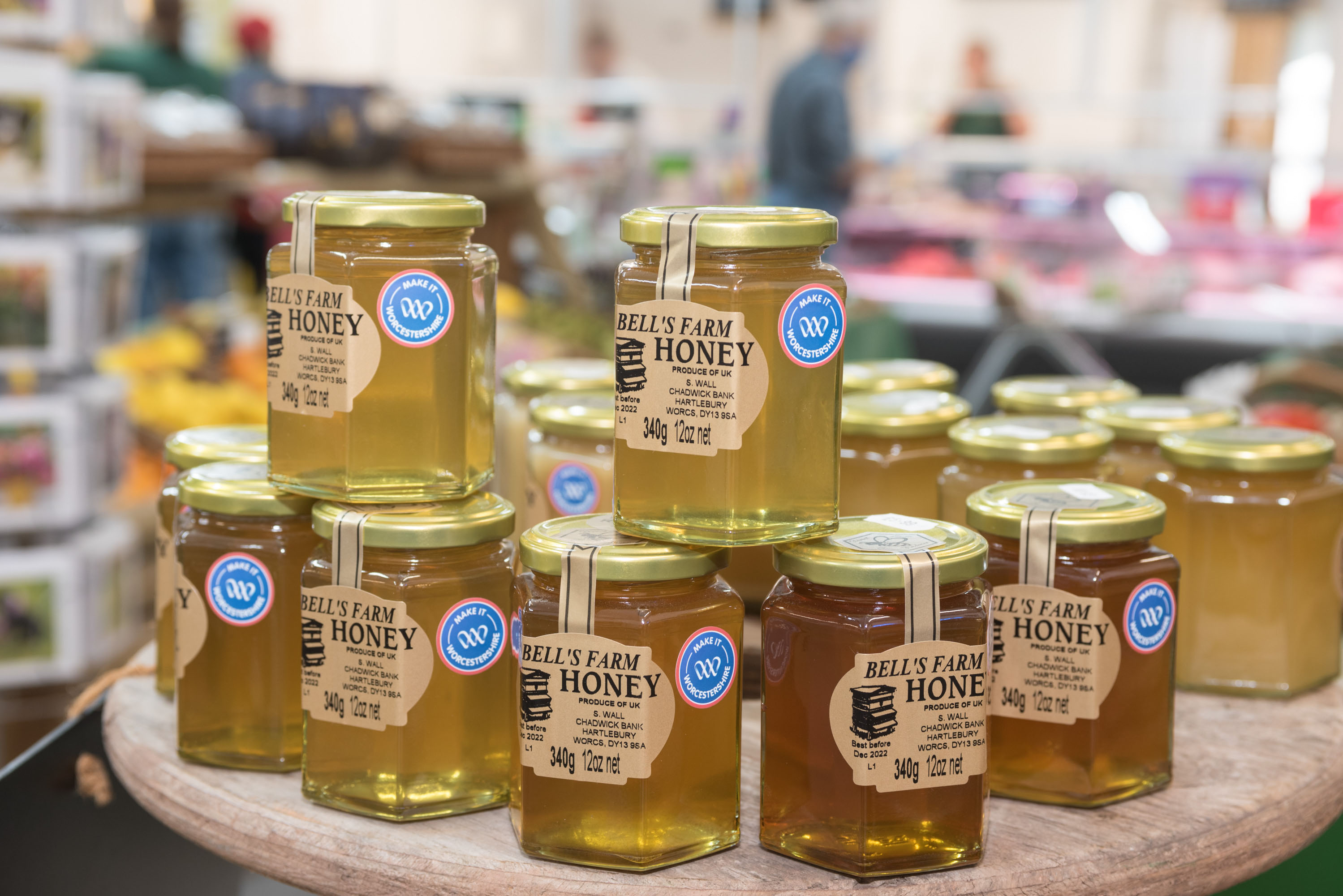 Jars of Honey Make It Worcestershire Launch