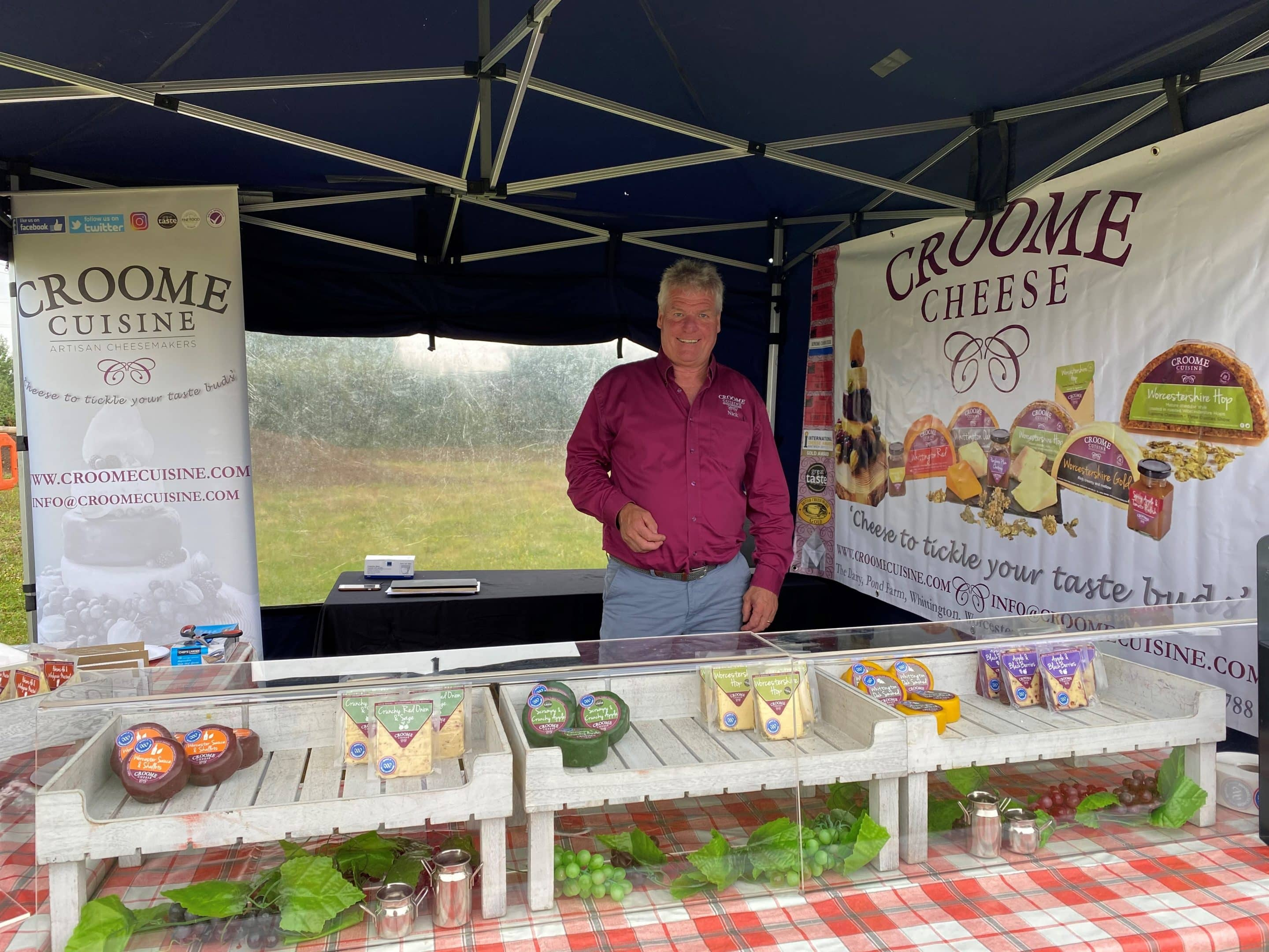 High Sheriff of Worcestershire and Mayor of Worcester Come Together To Support Local Producers