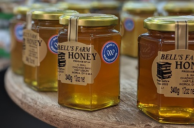 Bell's farm honey